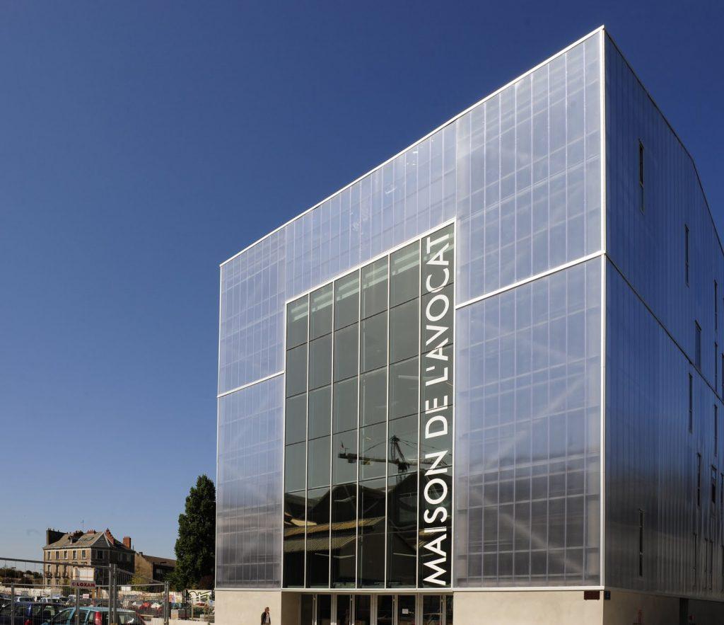 Colegio de abogados en Nantes   Forma6