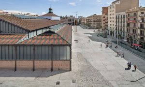 Born Market surrounding area in Barcelona | vora