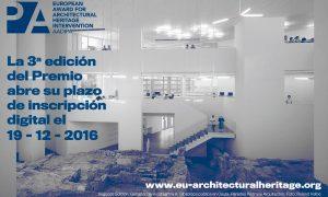 III Premio Europeo de Intervención en el Patrimonio Arquitectónico AADIPA