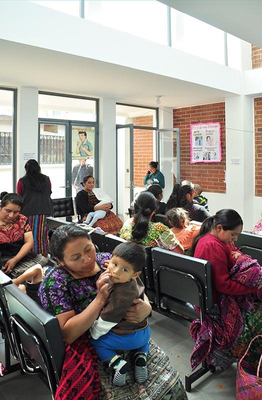 Centro de salud de san juan ostuncalco arquitectura sin - Centro de salud san juan ...