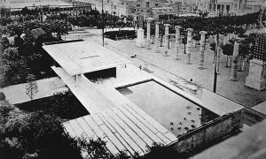 "The Barcelona Pavilion by Grain, "" of fluke? 