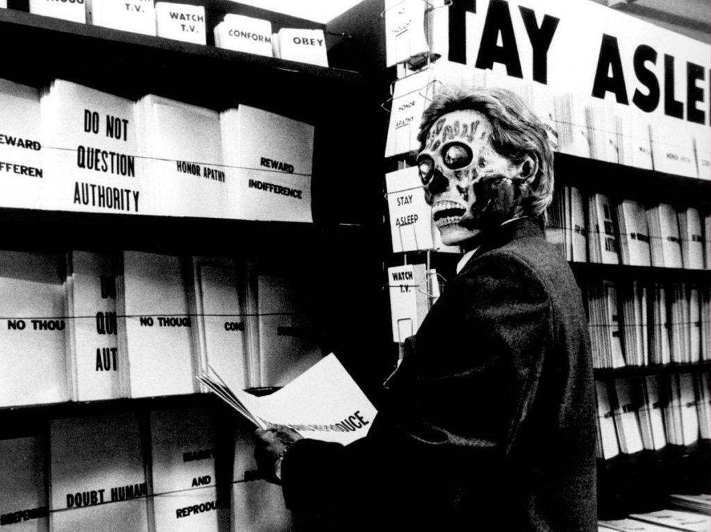 Consumo y control en el espacio público -They Live, 1988, John Carpenter o2