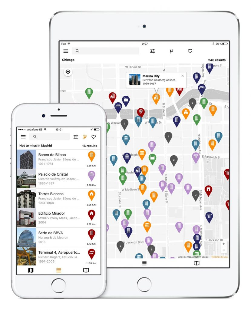 ArchiMaps app iphone ipad