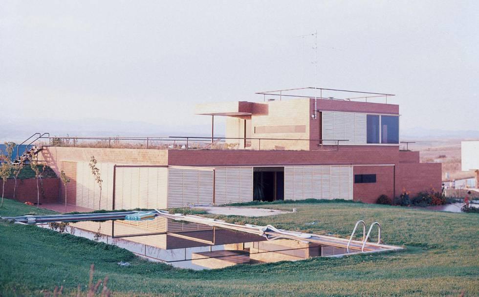La Casa Guzmán. Archivo Fundación Alejandro de la Sota
