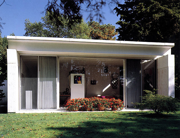 Travertine House, 1963, Gordon Bunshaft, Fotografía: Ezra Stoller