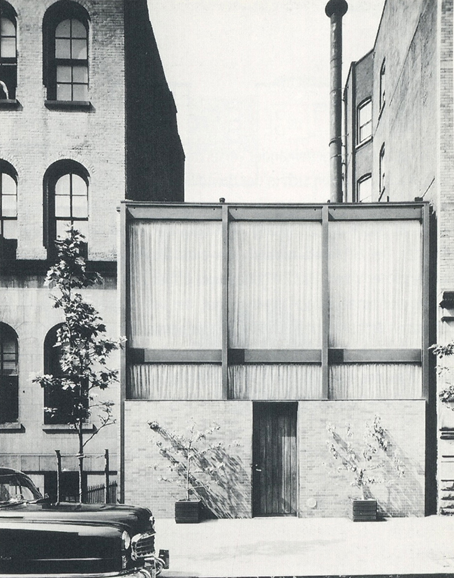 Rockefeller Guest House, Philip Johnson, 1950