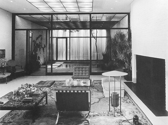 Entre medianeras-Rockefeller Guest House, Philip Johnson, 1950 o3
