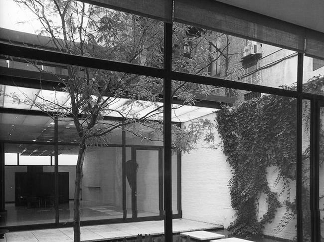 Entre medianeras-Rockefeller Guest House, Philip Johnson, 1950 o4