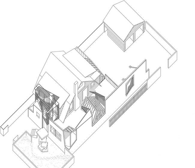 Gehry house, Santa Monica Íñigo García Odiaga o15 axo