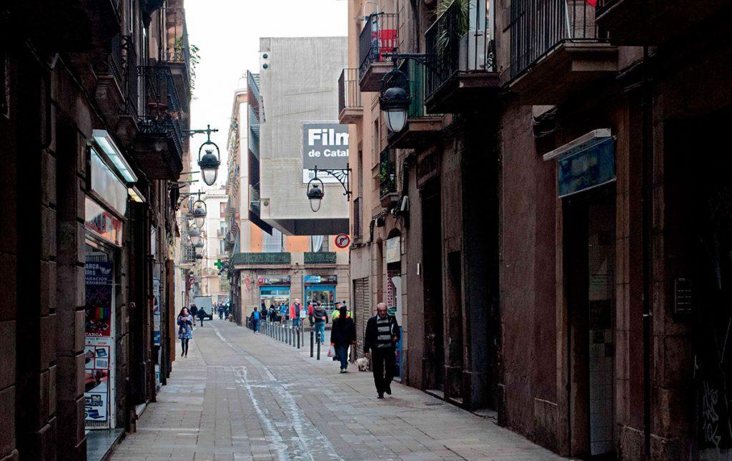 La Filmoteca de Catalunya de Mateo Arquitectura en uso | Fotografía: Jaume Prat