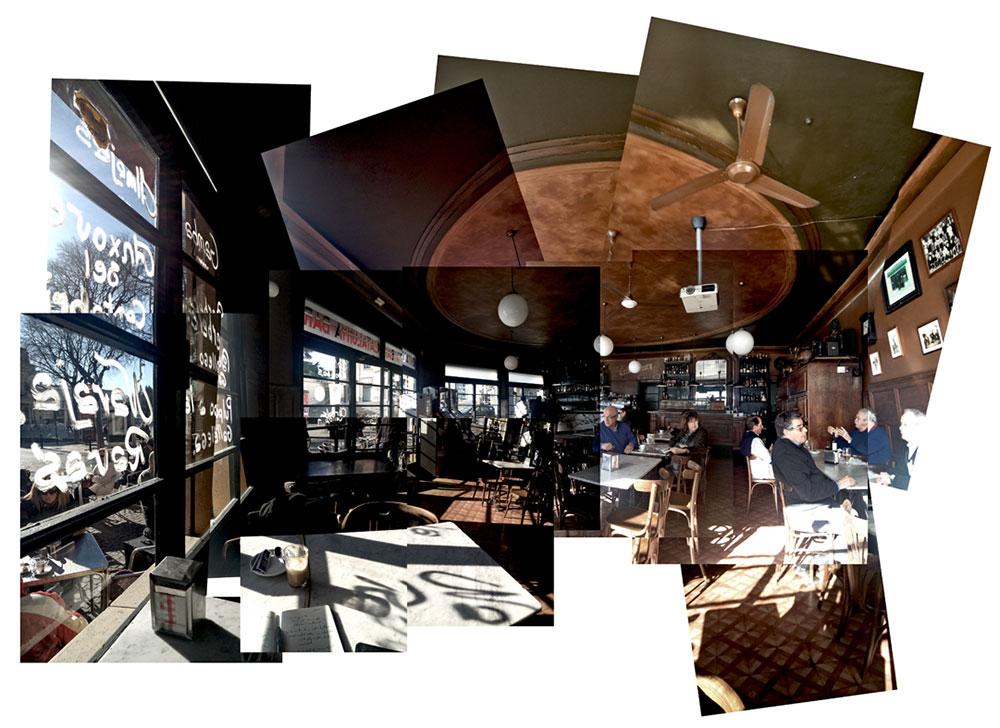 Bar Catalunya donde escribo casi todo | Fotografía: Jaume Prat
