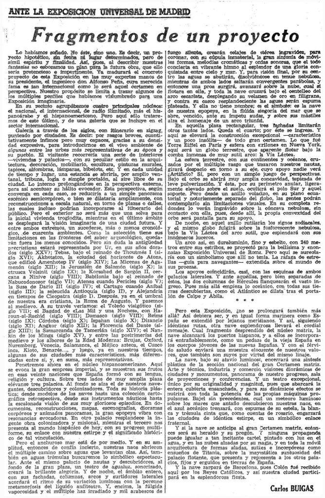 La Vanguardia, 30 agosto 1946