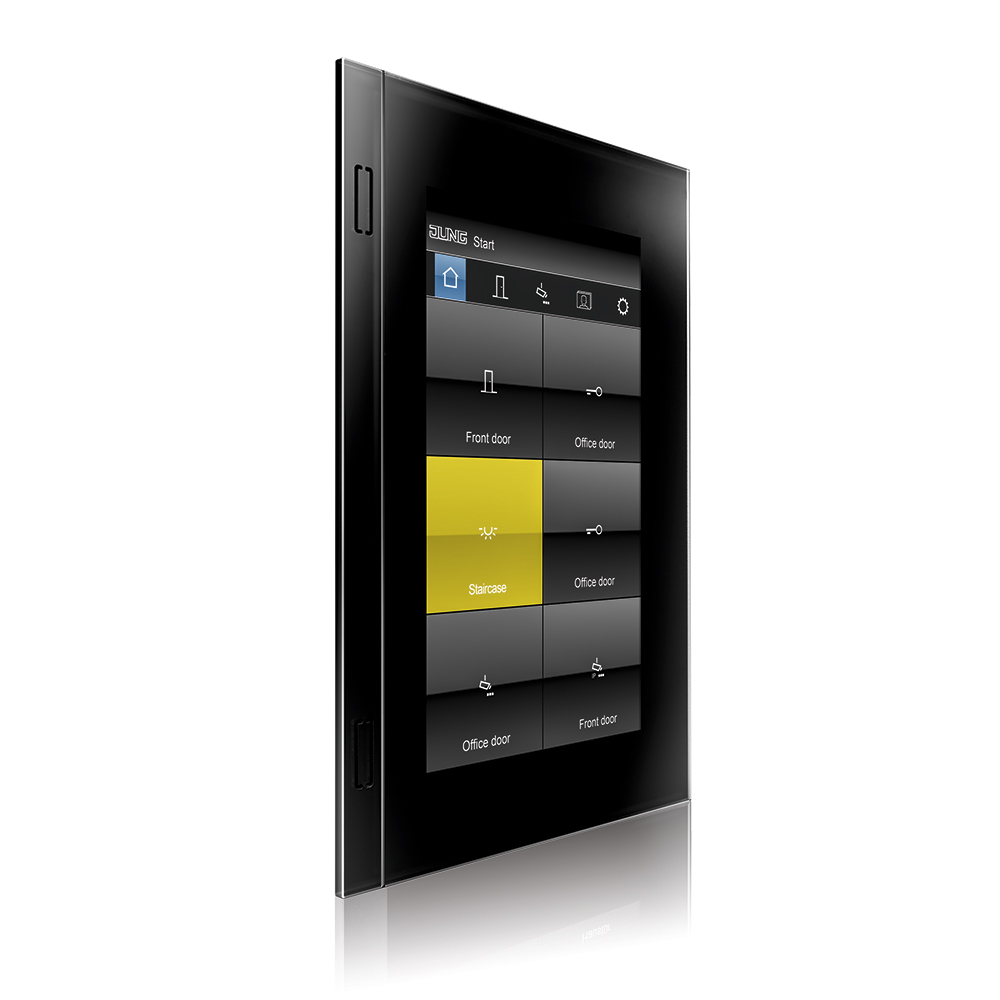 "panel de control inteligente Smart Control 7"" de Jung o2"