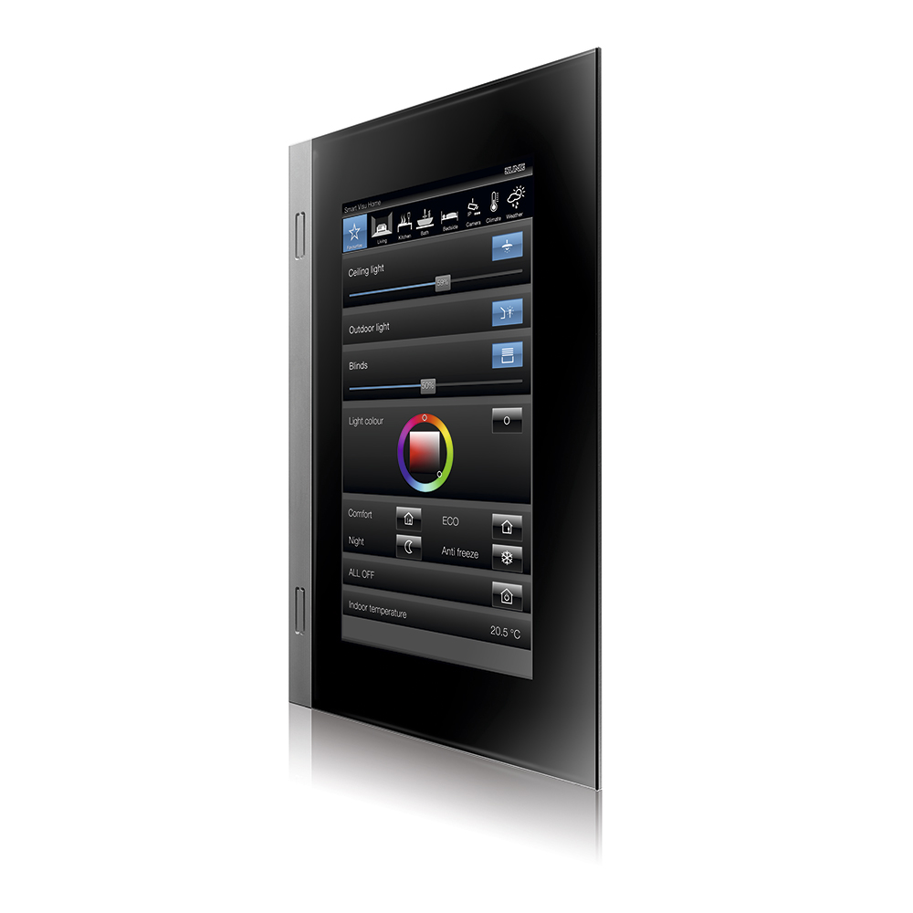 "panel de control inteligente Smart Control 7"" de Jung o3"