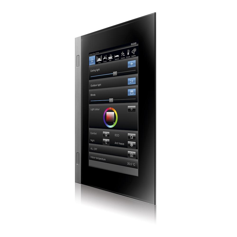 """panel de control inteligente Smart Control 7"""" de Jung o3"""