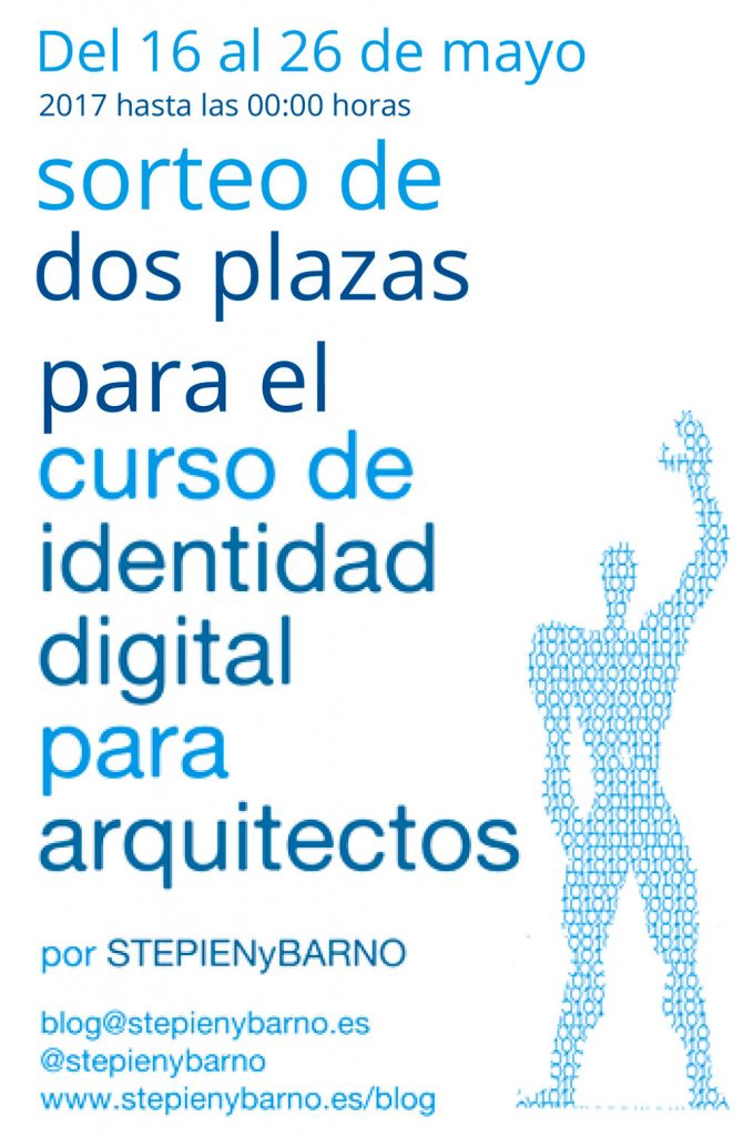 sorteo de 2 plazas para 7 curso online de identidad On cursos para arquitectos