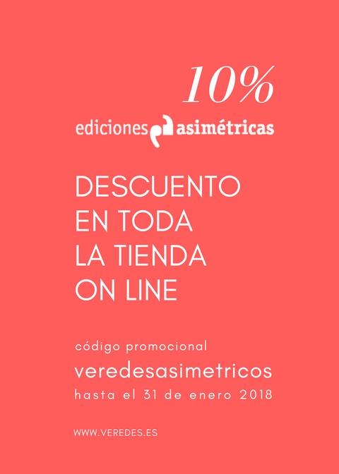 Descuento veredesasimetricos de Ediciones Asimétricas 2017