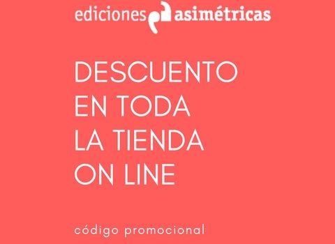 Ediciones Asimétricas Promotion 10% veredesasimetricos