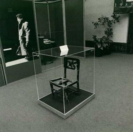 Glen Gould chair | Fuente: Orange create art
