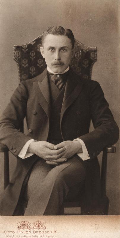 Adolf Loos (1870-1933)   Fotografia: von Otto Mayer