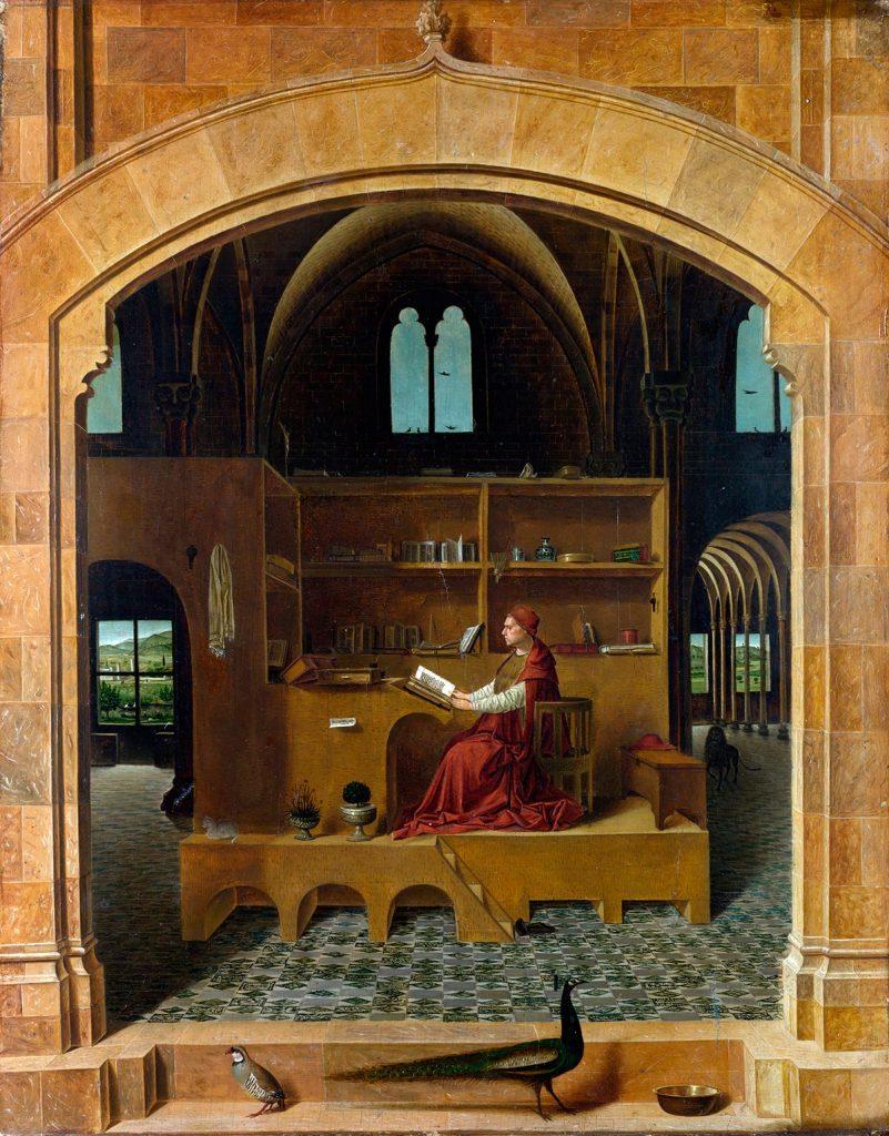 Scriptorium, Antonello da Messina, Elías Cueto