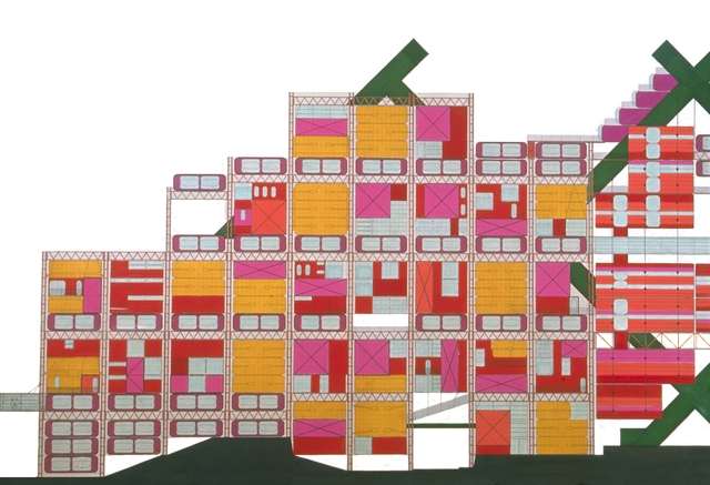 Hornsey Housing Study ©Archigram