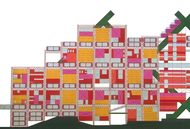 Hornsey Housing Study ©Archigram