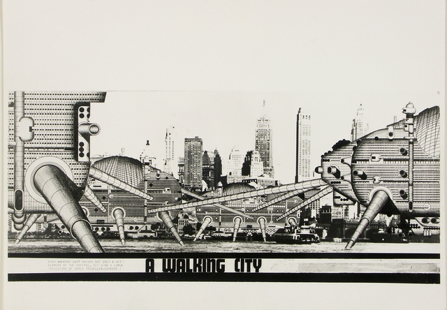 Walking City ©Archigram