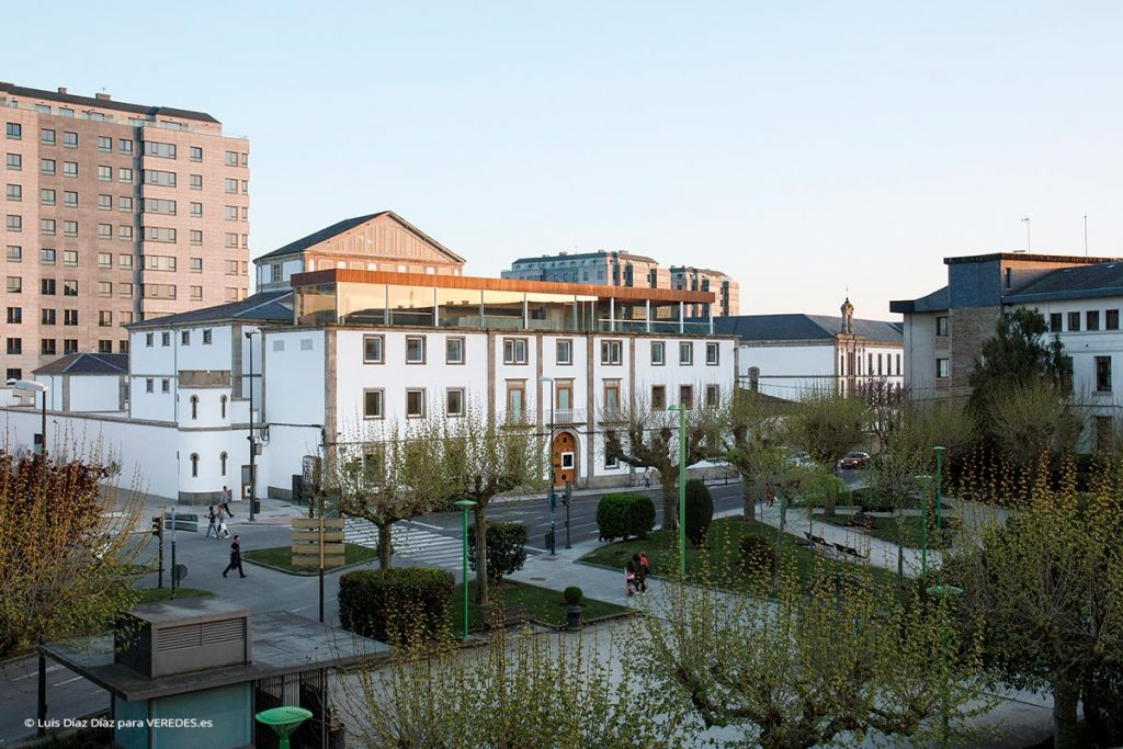Edificio Vello Várcere. Rehabilitación de la antigua cárcel de Lugo para centro cultural CREUSeCARRASCO o10