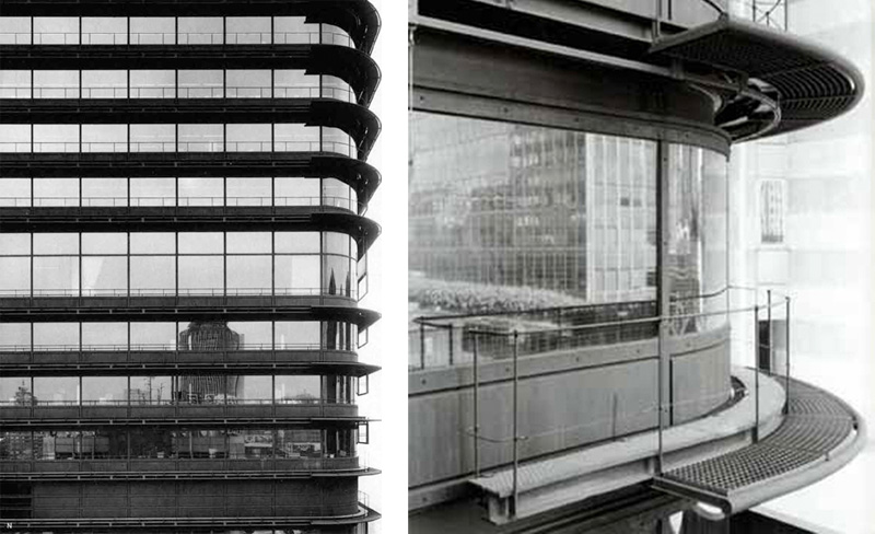 La Torre del Banco de Bilbao de Saénz de Oiza Fotografía Baltanás y Sánchez