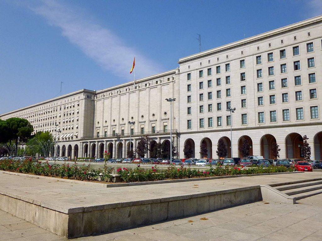 Nuevos Ministerios,1933-42, Secundino Zuazo