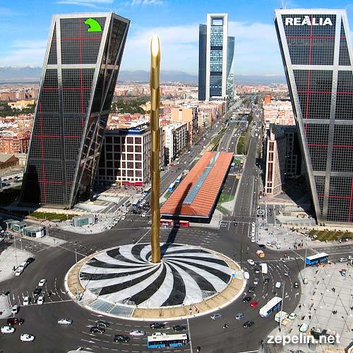 Obelisco Plaza de Castilla