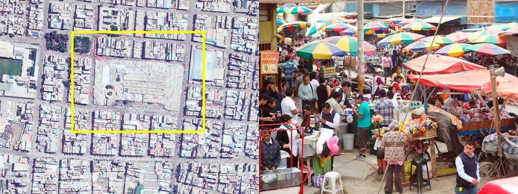 Mercado Modelo de Chiclayo. Foto: Google Earth 2017 | Mercado Modelo de Chiclayo. Foto: www.liiiisho.blogspot.pe