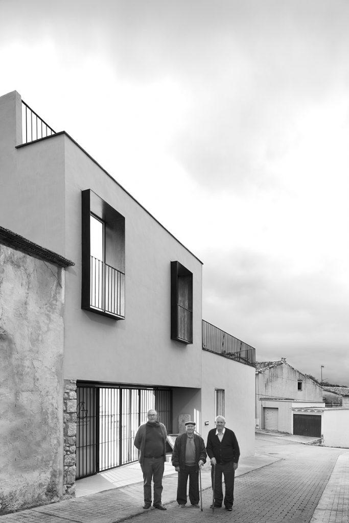 Font de l'Art Adsubia. Vivienda entre medianeras nomarq estudi d'arquitectura o9 exto5