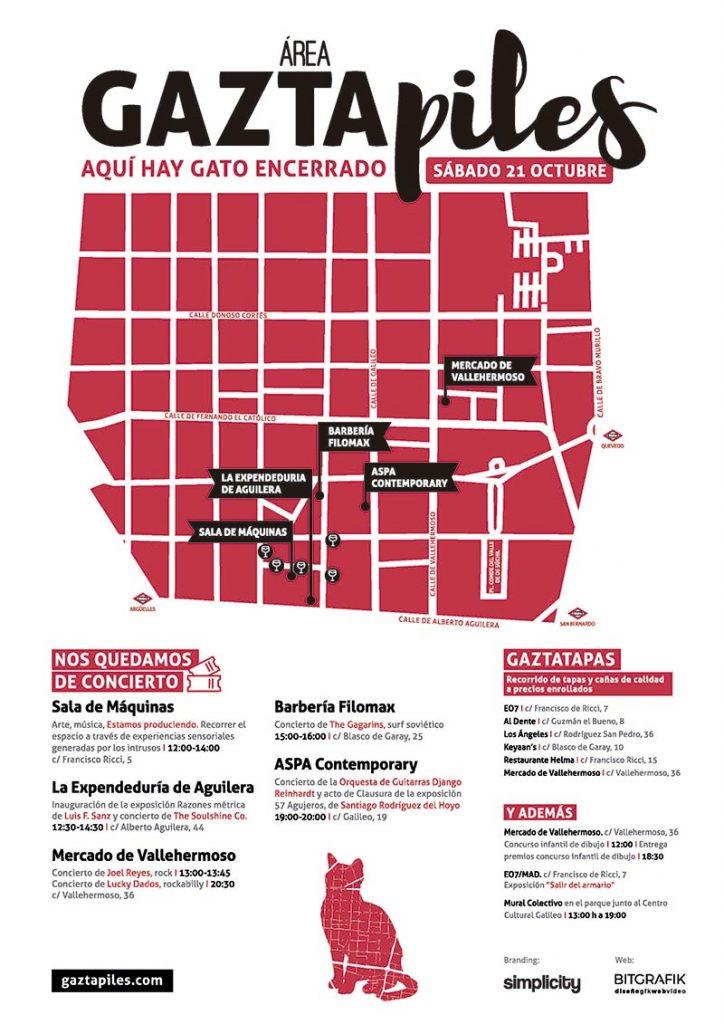 II Gaztapiles un festival urbano de arte, música y gastronomía