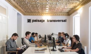 Paisaje transversal · Urban negotiation for the collective transformation · Listening and transforming