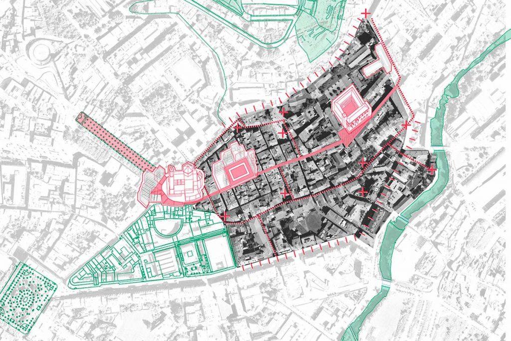 Olot, mapa de regeneración urbana