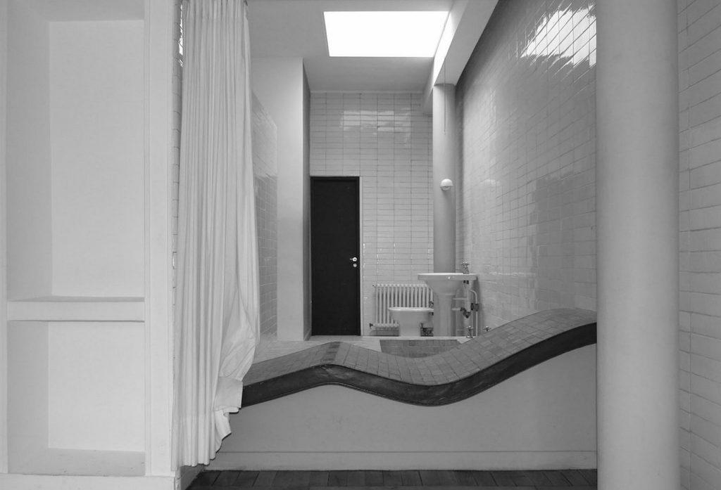 Villa Savoye en Poissy, France, Le Corbusier