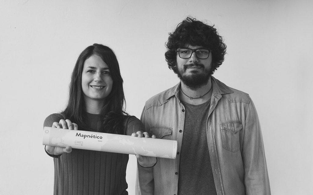 Marina Díaz y Daniel Natoli, arquitectos y diseñadores de Mapnético
