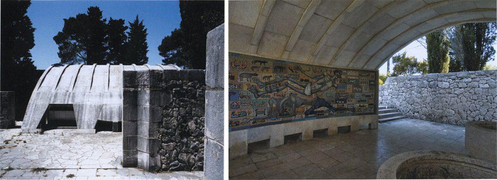 Museo o cripta exterior   Museo interior