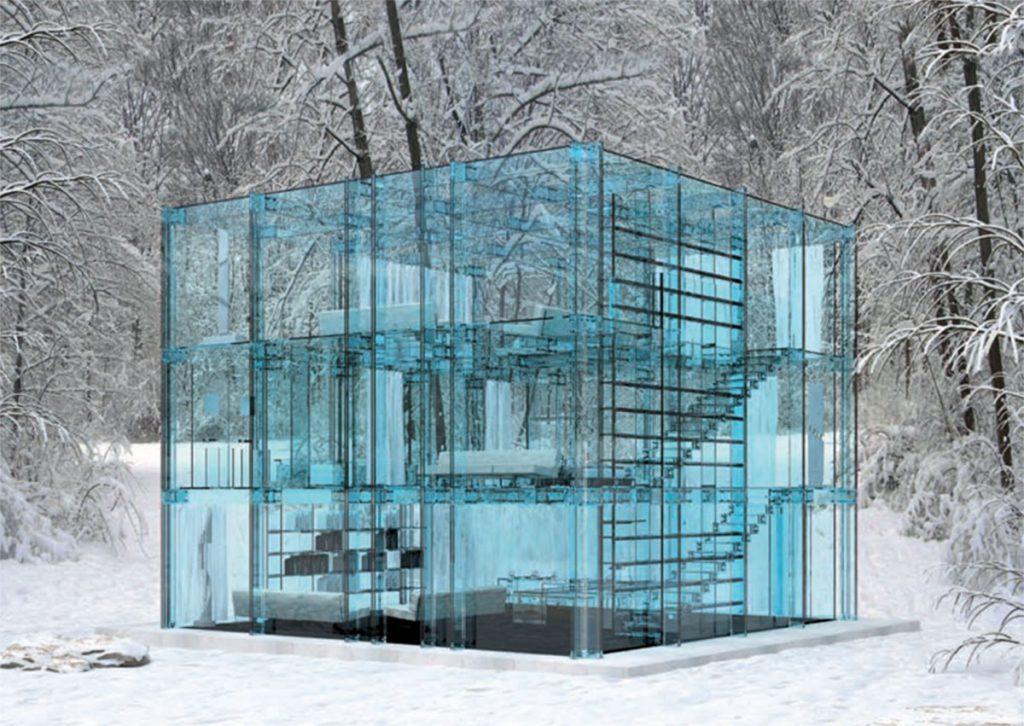 La Glass House, Carlo Santambrogio | Fuente: revistaexclama.com