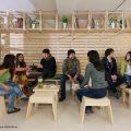 Cafetería del Hall de la Escuela de Arquitectura Universidad del BioBío República Portátil o15