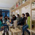 Cafetería del Hall de la Escuela de Arquitectura Universidad del BioBío República Portátil o17