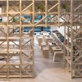 Cafetería del Hall de la Escuela de Arquitectura Universidad del BioBío República Portátil o3