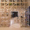 Cafetería del Hall de la Escuela de Arquitectura Universidad del BioBío República Portátil o5