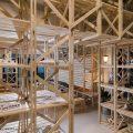 Cafetería del Hall de la Escuela de Arquitectura Universidad del BioBío República Portátil o6