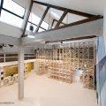 Cafetería del Hall de la Escuela de Arquitectura Universidad del BioBío República Portátil o7