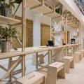 Cafetería del Hall de la Escuela de Arquitectura Universidad del BioBío República Portátil o8