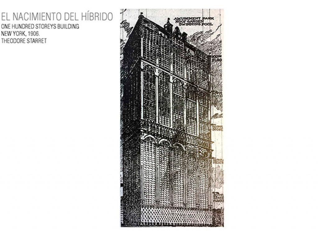 100 storeys building. Theodore Starrett