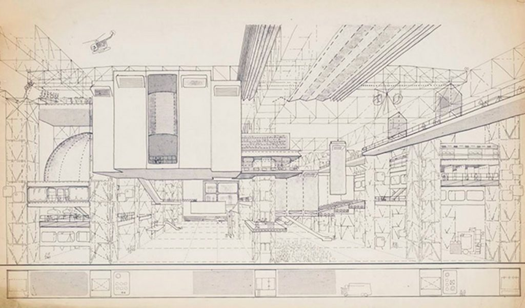 Cedric Price. Fun Palace. 1963-1977